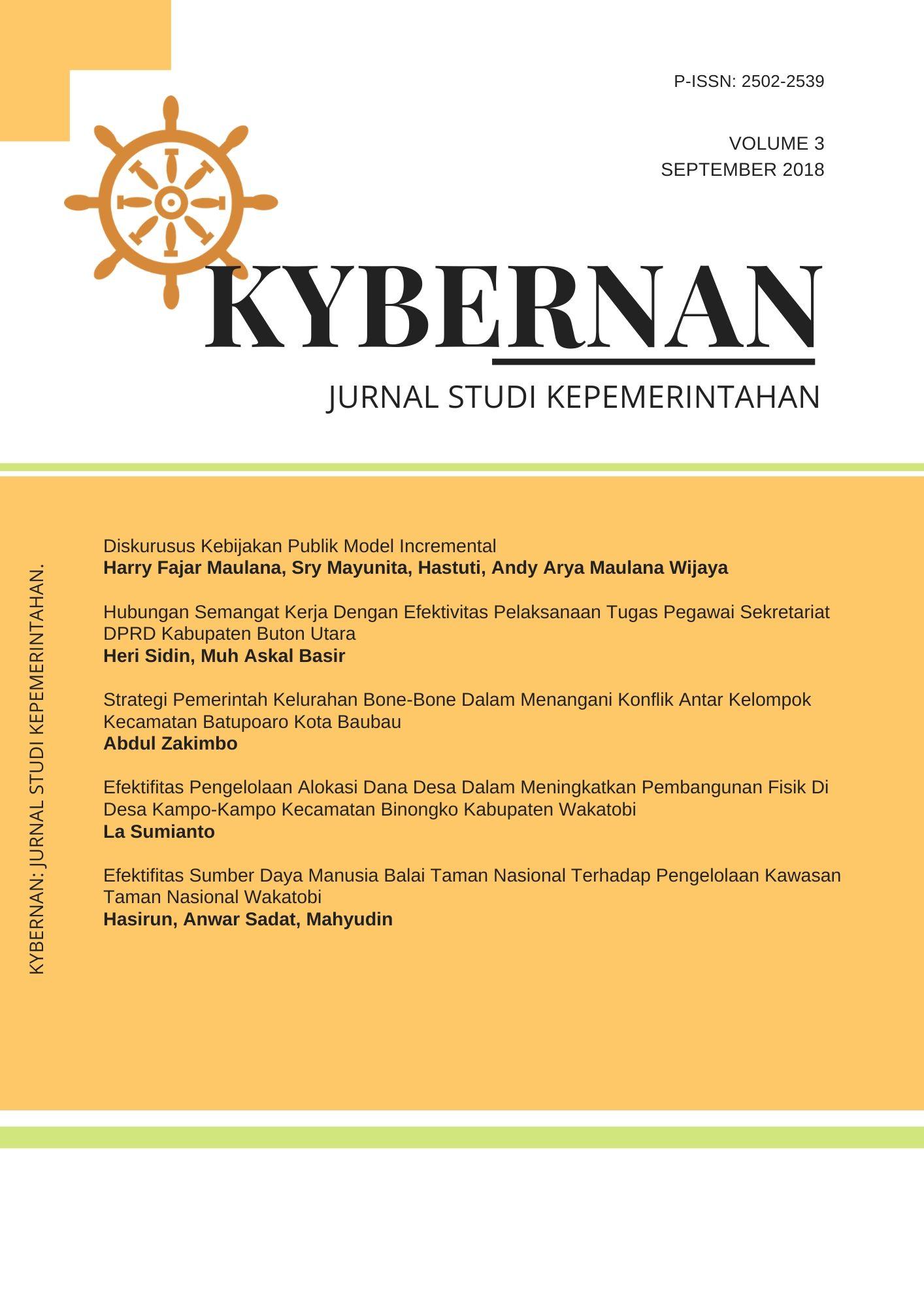 Kybernan: Journal of government studies