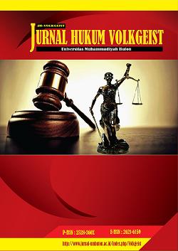 Penerapan Sanksi Pidana Bagi Pelaku Tindak Pidana Aborsi Menurut Peraturan Perundang Undangan Yang Berlaku Jurnal Hukum Volkgeist